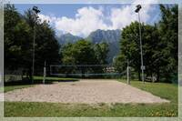 Immagine del campo da beach volley